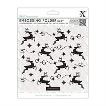 Embossing folders, reindeer