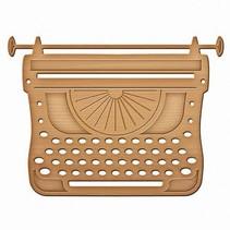 Spellbinders, stansning og prægning skabelon Skrivning Machine