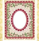 JUSTRITE AUS AMERIKA Justrite, sello de goma, Marco del acebo
