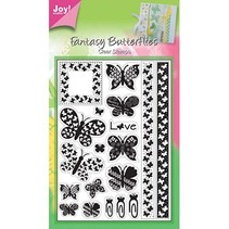 Clear stamps, papillons