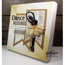 Spellbinders, poinçonnage et de gaufrage modèle, Tiny Dancers