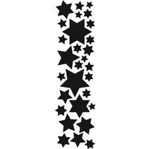 Estampage et Pochoir gaufrage, Marianne Design étoiles