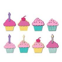 Stempling og prægning stencil, Sizzix, ThinLits, Cupcakes