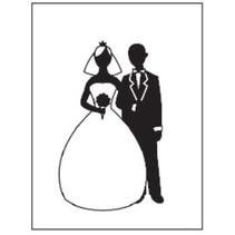 Prägefolder, Thema: Hochzeit