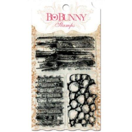 Bo Bunny Gennemsigtige frimærker, 10x15,3cm