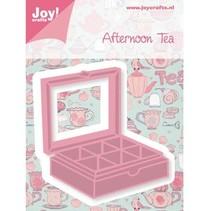 Poinçonnage et le modèle de gaufrage, boîte à thé