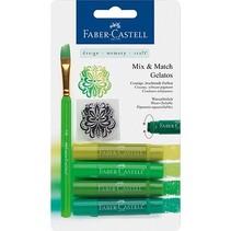 Gelatos Kreider, grün Töne