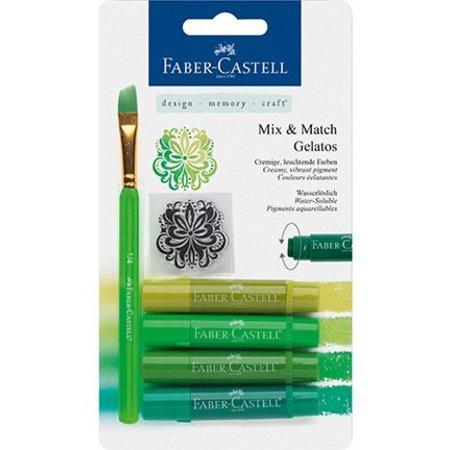 FARBE / INK / CHALKS ... Gelatos Kreider, verdes