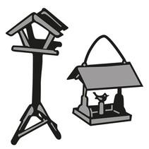 Birdhouse de l'estampage et Pochoir gaufrage, minuscule
