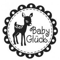 Holzstempel, texte allemand, sujet: Baby