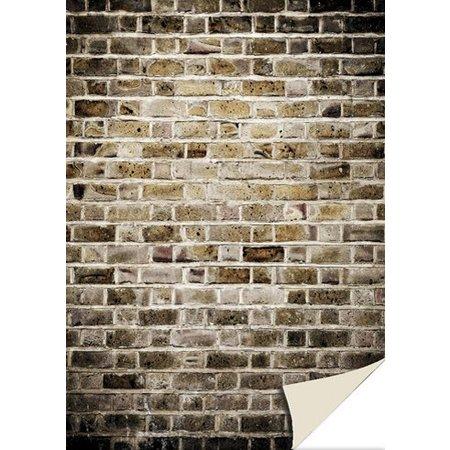 DESIGNER BLÖCKE  / DESIGNER PAPER 5 feuilles de papier cartonné avec le regard de pierre, mur de briques, vieux