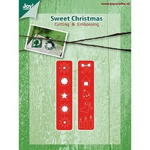 Estampage et Pochoir gaufrage, décorations de Noël pour Kranz (Kh428759-6002 / 2039)