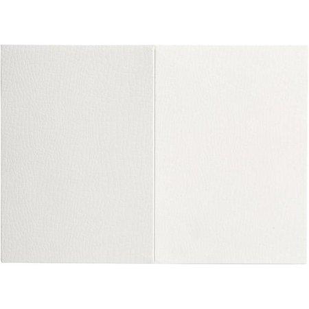 KARTEN und Zubehör / Cards Brev card størrelse 10,5x15 cm, hvid, 10 stykker