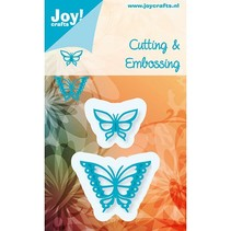 Estampage et Pochoir gaufrage, Joy Crafts, Papillons