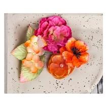 Blomster og blade fra Prima Marketing, 9 stykker