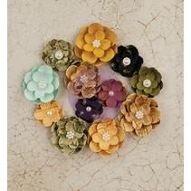 Blumen von Prima Marketing, Paper Flowers Tell Time, 12 Blumen