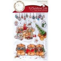 Clear stamps, des motifs de Noël