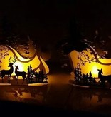 Dutch DooBaDoo At designe skabelon til en 3D-slide