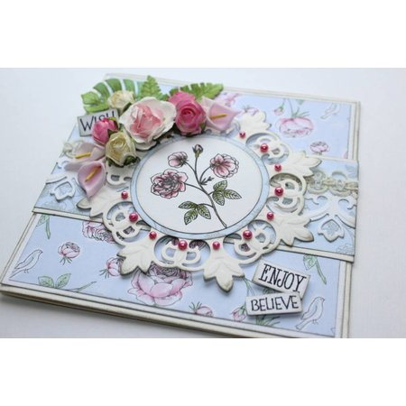 Joy!Crafts und JM Creation Transparent stempel, Vintage Rose