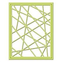 Stanz- und Prägeschablone, Metallschablone Shapeabilities, Card Fronts / Glass Effects