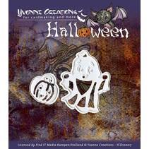 """Poinçonnage et le masque de gaufrage, Halloween """"Pumpkin Basket"""""""