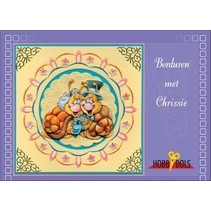 Bastelbuch, Hobbydols 1, borduren moda reunió Chrissie