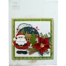 modèle de poinçonnage et gaufrage, Collectables, le Père Noël