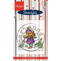 Transparent stamps Marianne design, Snoesjes in snow