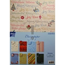Designer Block, un bloc A4 de papier, de Noël