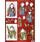 BILDER / PICTURES: Studio Light, Staf Wesenbeek, Willem Haenraets 1 Deluxe feuilles decoupees: feuilles coupées de Die 3D, Santas Vintage