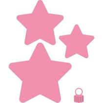 Corte y estampado en relieve plantillas, Estrella de la Navidad / Estrella de la Navidad