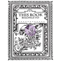 Transparent Stempel, Princess, Kouvert Mini Buch