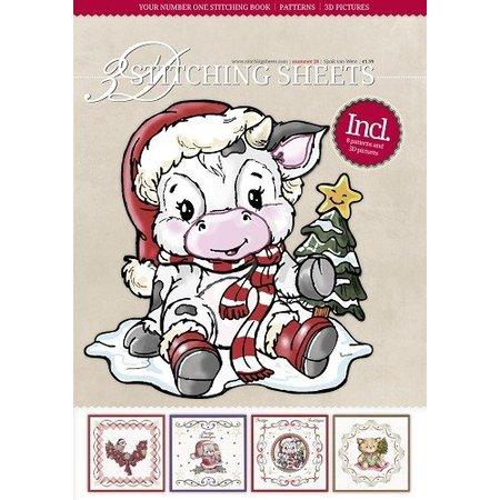 Bücher und CD / Magazines Bastelbuch con Stitch, motivos navideños