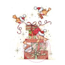 Gennemsigtige frimærker, Robins til gaver