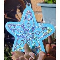 Stansning - og prægning stencil, Star