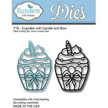 Estampage et Pochoir gaufrage: Cupcake