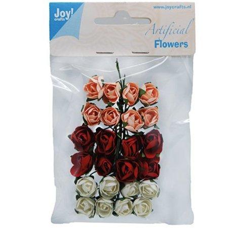 Embellishments / Verzierungen 24 fleurons, 3 couleurs