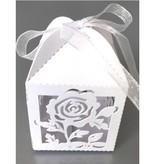 Dekoration Schachtel Gestalten / Boxe ... La casilla 10 de regalo con motivo de rosa delicada