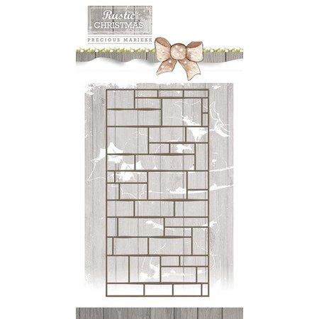 Precious Marieke Estampación plantilla, de la pared, tamaño aprox 7.4 x 14.7 cm