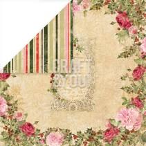 """Designer paper 30.5 x 30.5 cm, Christmas """"Christmas Story 1"""""""