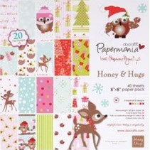 Diseñador de papel 20,3 x 20,3 cm, motivos navideños