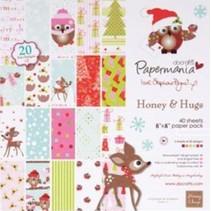 Papier Designer 20,3 x 20,3 cm, motifs de Noël