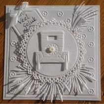 Marianne Design, presning og prægning stencil
