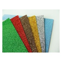 5 x Glitter Papir, A5
