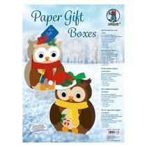 Complete Bastelset for designing 8 Gift Boxes