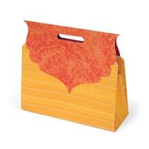 Estampage modèle, coffret cadeau sous la forme d'un sac