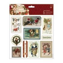 Selvklæbende etiketter, victorianske jul