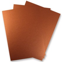 3 Feuille de papier métallisé