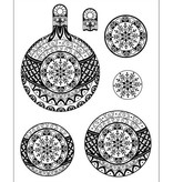 Viva Dekor und My paperworld Minus 15% rabat = 4,72 €! Stempel, 3D jule bold Snowflake