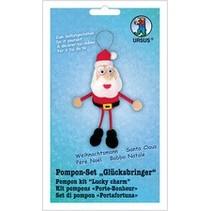 Bastelset: Pompon-SET Lucky Charms de Santa Claus
